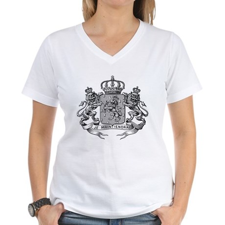 ANCIENT ARMS Women's V-Neck T-Shirt