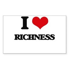 I Love Richness Decal