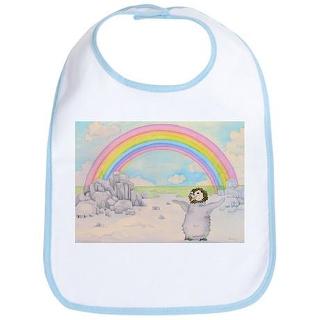 The Penguin and the Rainbow Bib