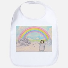 The Penguin and the Rainbow Bib