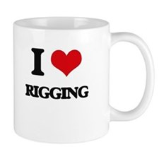 I Love Rigging Mugs