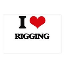 I Love Rigging Postcards (Package of 8)