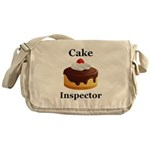Cake Inspector Messenger Bag