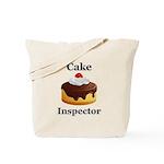 Cake Inspector Tote Bag