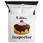 Cake Inspector Queen Duvet