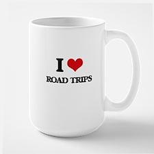 I Love Road Trips Mugs