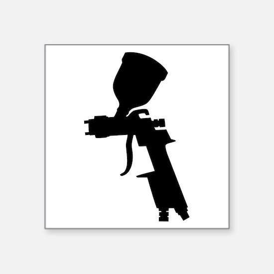 Paint Spray Gun Sticker
