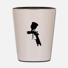 Paint Spray Gun Shot Glass