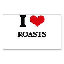 I Love Roasts Decal