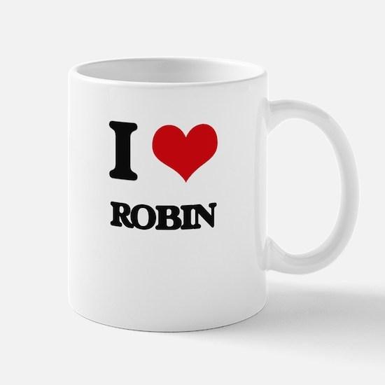 I Love Robin Mugs