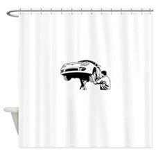 Mechanic Shower Curtain