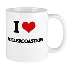 I Love Rollercoasters Mugs