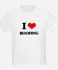 I Love Roofing T-Shirt