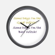 Unique Bad witch Wall Clock