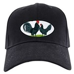 Blue Dutch Chickens Black Cap