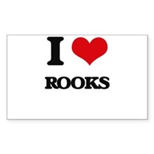 I Love Rooks Decal