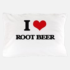 I Love Root Beer Pillow Case