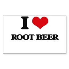 I Love Root Beer Decal