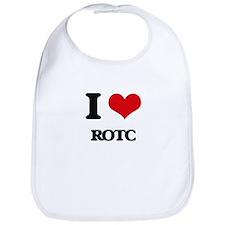 I Love Rotc Bib