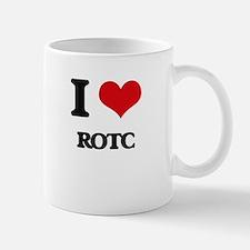 I Love Rotc Mugs