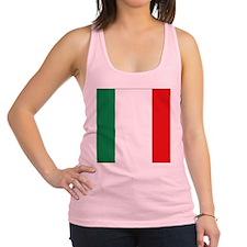 Italian flag Racerback Tank Top