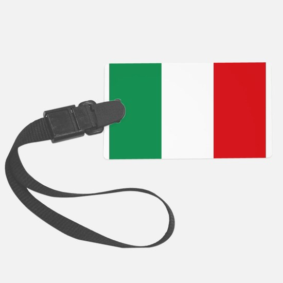 Italian flag Luggage Tag