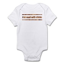 Drum Stick Infant Bodysuit