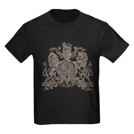 UNICORN CREST Kids Dark T-Shirt