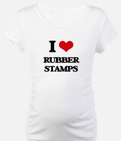 I Love Rubber Stamps Shirt