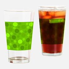 Green Lime Green Light Dark Modern  Drinking Glass