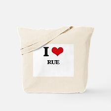 I Love Rue Tote Bag