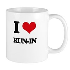 I Love Run-In Mugs