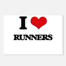 I Love Runners Postcards (Package of 8)