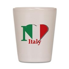 I love Italy Shot Glass