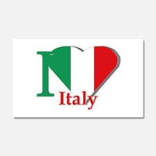 I love Italy Car Magnet 20 x 12