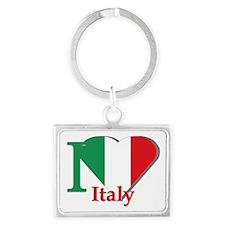 I love Italy Landscape Keychain