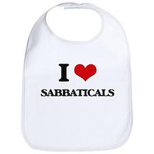 I Love Sabbaticals Bib