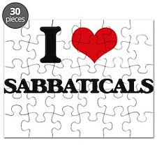 I Love Sabbaticals Puzzle