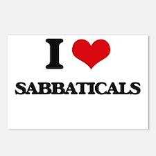 I Love Sabbaticals Postcards (Package of 8)