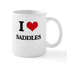 I Love Saddles Mugs