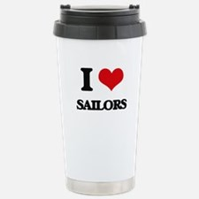 I Love Sailors Travel Mug