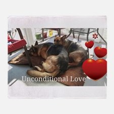 Unconditional Love Throw Blanket