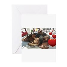 Unconditional Love Greeting Cards
