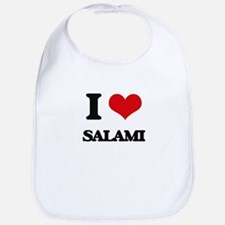 I Love Salami Bib