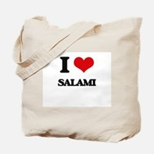 I Love Salami Tote Bag