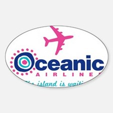 Cute Lost oceanic airlines Decal