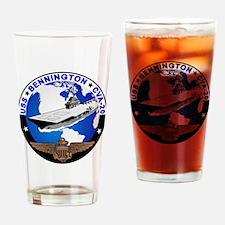 USS Bennington CVS-20 Drinking Glass