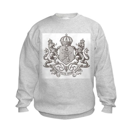 ANCIENT LION CREST Kids Sweatshirt