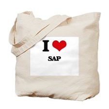 I Love Sap Tote Bag