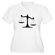 Scale Of Justice Plus Size T-Shirt